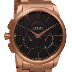 Azzaro Men's 'Legend Chrono' Goldtone Retrograde Chronograph Watch