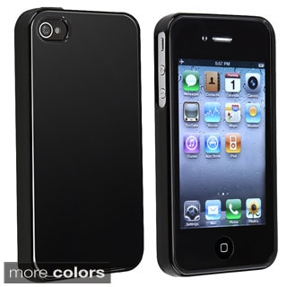 TPU Shock-absorbent Shatterproof Rubber Skin Case for Apple iPhone 4