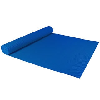 Deluxe Blue Yoga and Pilates Mat