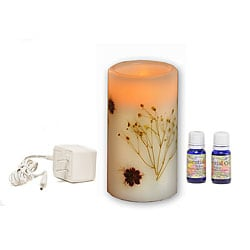 CandleTek Lavender Aroma Therapy Flameless Candle