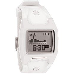 Nixon Lodown Men's White Digital Watch