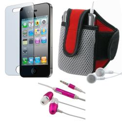 BasAcc 3-piece Armband and Headset for Apple iPhone 4