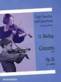 Concerto in G, Op. 34: Easy Concertos and Concertinos Series for Violin and Piano (Paperback)