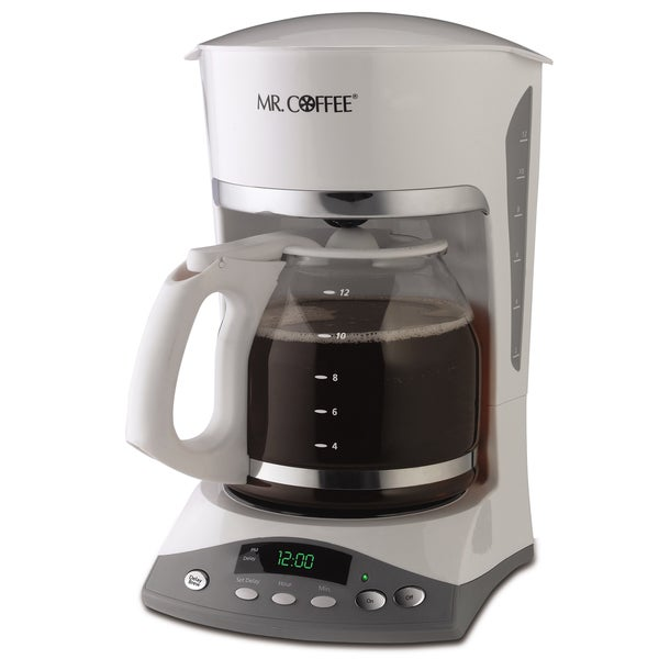 Mr. Coffee SKX20-NP SKX Series 12-Cup White Programmable Coffeemaker 7044831