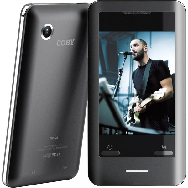 Coby MP828 4 GB Flash Portable Media Player