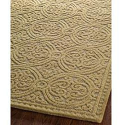 Safavieh Handmade Moroccan Cambridge Gold Wool Rug (8' x 10')