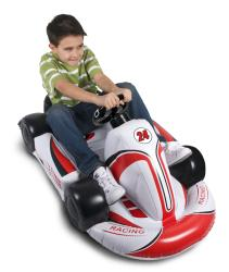 Wii - Inflatable Racing Kart - Car Rider for Mario Kart and All Racing Games - By CTA