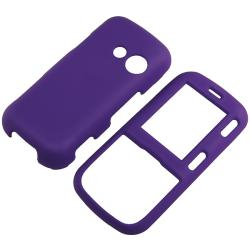 Snap-on Rubber Coated Case for LG Cosmos VN250