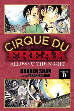 Cirque Du Freak 8: Allies of the Night (Paperback)
