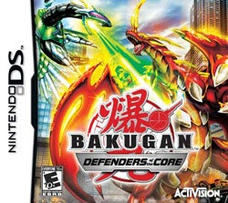 NinDS - Bakugan Battle Brawlers: Defenders of the Core