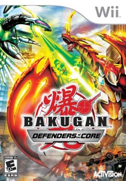 Wii - Bakugan Battle Brawlers: Defenders of the Core