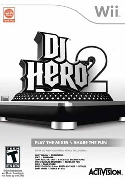 Wii - DJ Hero 2 - By Activision