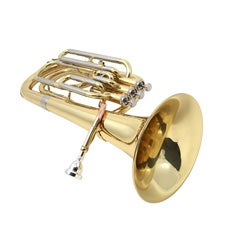 Three-piston Valve Bb Baritone Horn