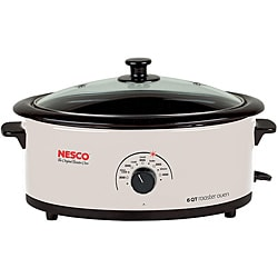 Nesco 4816-14G-30 Ivory 6-quart Roaster