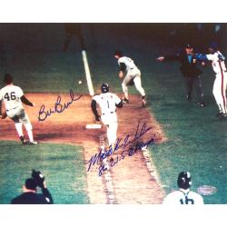 Steiner Sports Autographed Mookie Wilson/ Bill Buckner Dual Signed 8x10 Photograph