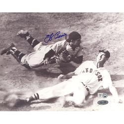 Steiner Sports Autographed Yogi Berra Vs. Ted Williams Slide Photograph