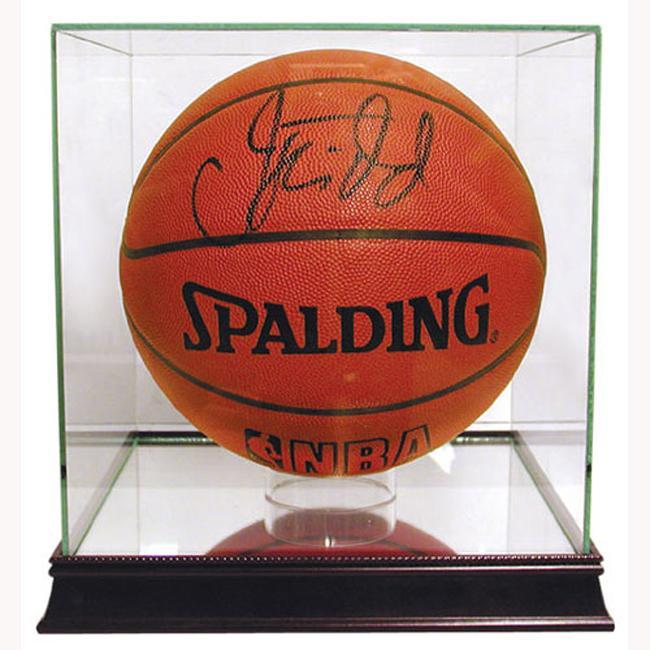 Steiner Sports Glass Basketball Case