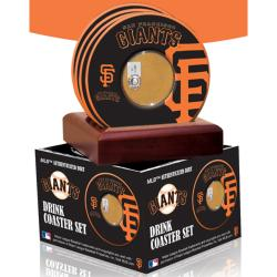 Steiner Sports San Francisco Giants Coaster w/ Game Used Dirt (Set of 4)