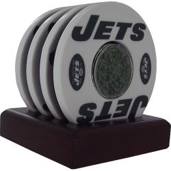 Steiner Sports NY Jets Logo Coasters