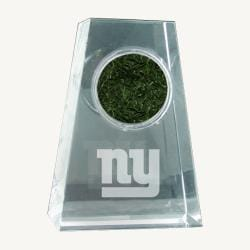 Steiner Sports New York Giants NFL Logo Crystal Paperweight