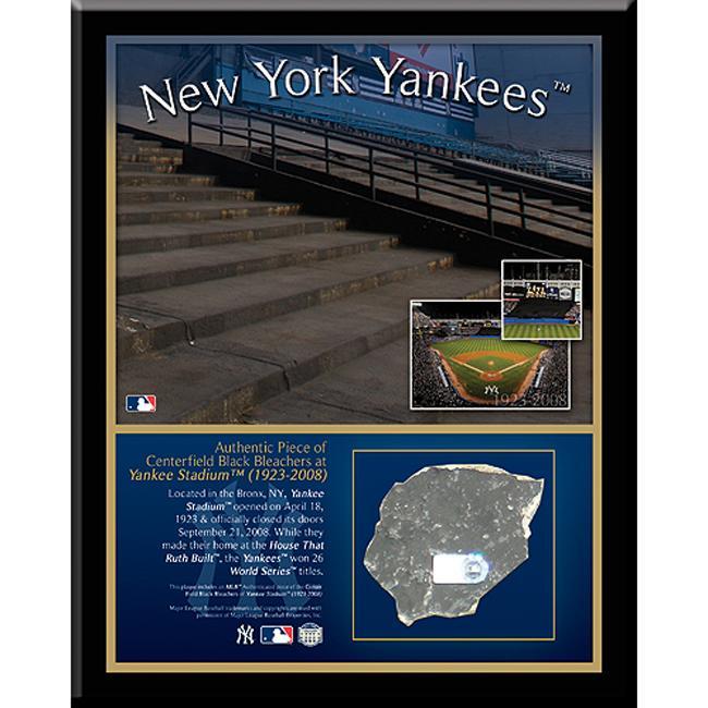 Steiner Sports New York Yankees Stadium 'Black' 8x10 Plaque