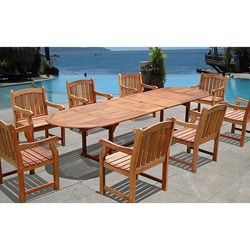9-Piece English Garden Dining Set