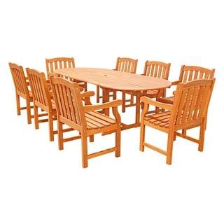 9-Piece English Garden Dining Set