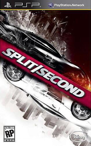 PSP - Split/Second - By Disney Interactive