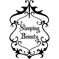 'Sleeping Beauty' Vinyl Wall Art
