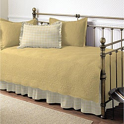 Trellis Maize 5-piece Daybed Set
