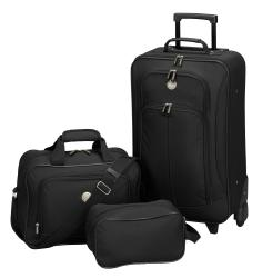 Traveler's Club Euro Value II 3-piece Carry-on Luggage Set