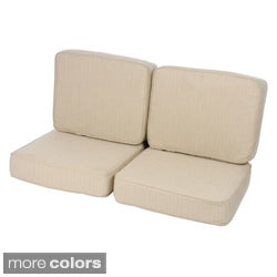 Loveseat Cushion Set made with Sunbrella Fabric