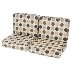 Loveseat Cushion Set made with Sunbrella Designer Fabric
