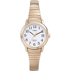 Timex Women's T2H351 Easy Reader Goldtone Stainless Steel Expansion Band Watch