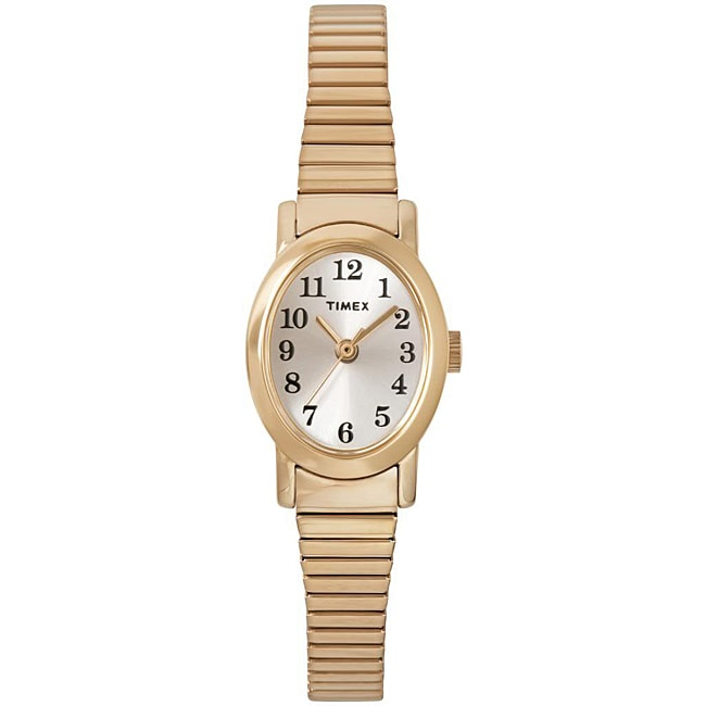Timex T2M5689J Women's Cavatina Goldtone Stainless Steel Expansion Band Watch
