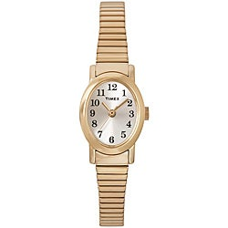 Timex Women's T2M568 Cavatina Goldtone Stainless Steel Expansion Band Watch