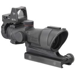 Trijicon 4x32 ACOG with RMR Reflex Sight