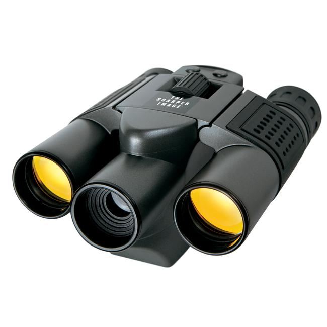 Sharper Image 10x25 Digital UV Binoculars/ Camera