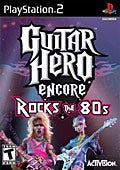 PS2 - Guitar Hero Encore: Rocks the 80's By Activision