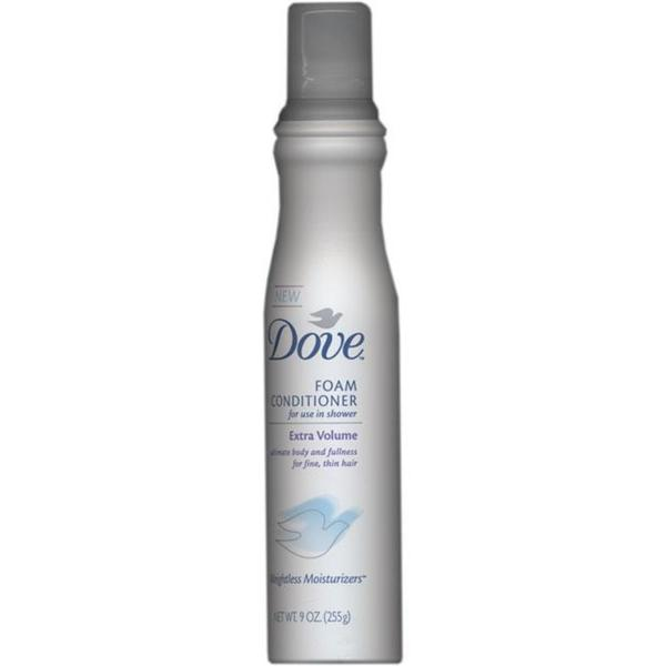 Dove Foam Extra Volume 9-ounce Conditioner (Pack of 2)