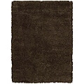 Nourison Splendor Hand-tufted Chocolate Rug (2'3 x 3'9)