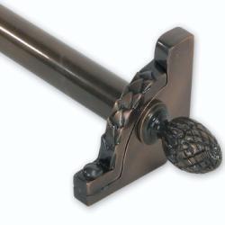 Brass Elegans 28.5-inch Lafayette Stair Rod Set