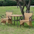 International Caravan Valencia Resin Wicker Bistro Set