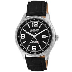 August Steiner AS8008SS Men's Stainless Steel Watch