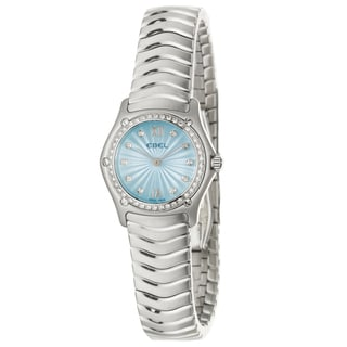 Ebel Classic Wave Women's Stainless-Steel Quartz Diamond Wrist Watch