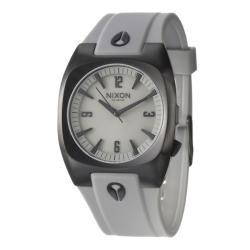 Nixon Men's 'The Tach Pu' Black Stainless Steel Quartz Watch