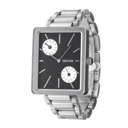 Nixon Women's 'The Ivy' Stainless Steel Dual Time Quartz Watch