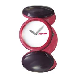 Nixon Women's 'The Spree' Pink Polycarbonate Quartz Watch