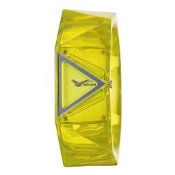 Nixon Women's 'The Tribella' Yellow Polycarbonate Quartz Watch
