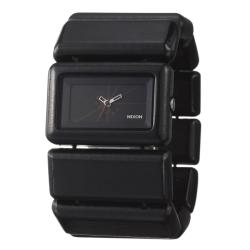 Nixon Women's 'The Vega' Black Wood Quartz Watch